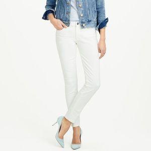 J. Crew White Skinny Jean